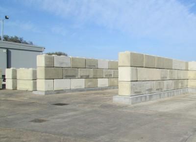 Wight Building Materials Ltd Large Interlocking Concrete